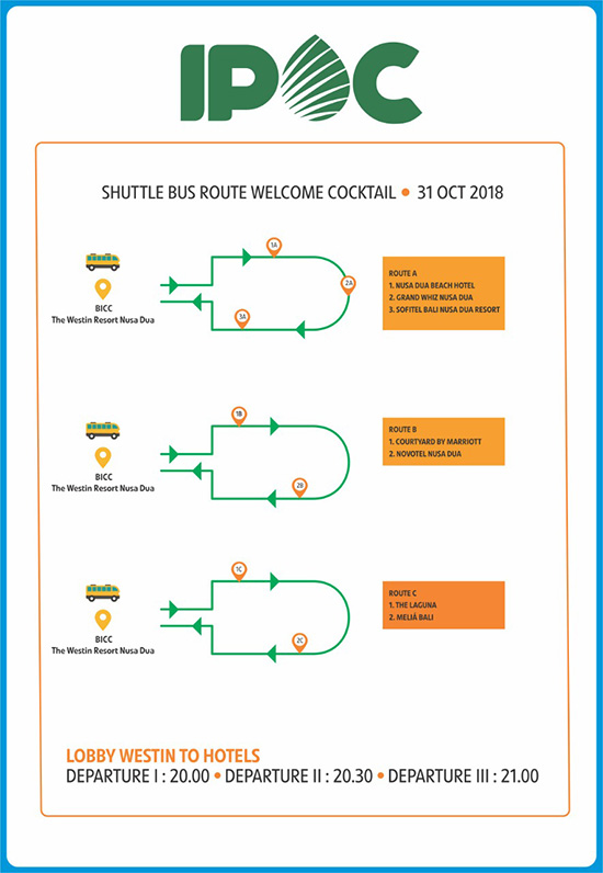 Shuttle Bus IPOC 2018
